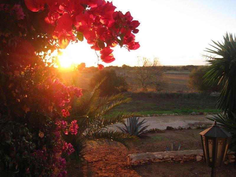 Sonnenuntergang von Terrasse/Porcha2