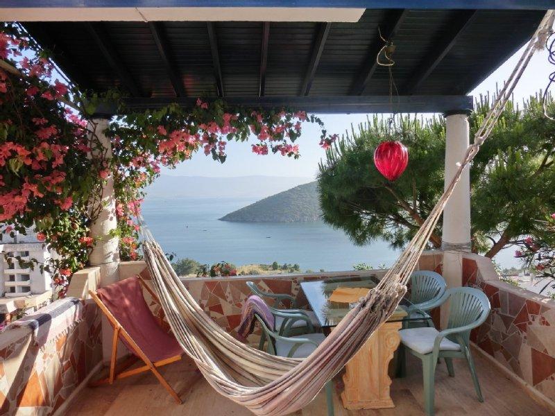 Ferienhaus an der türkischen Ägäis in der Nähe von Bodrum direkt am Meer, holiday rental in Milas