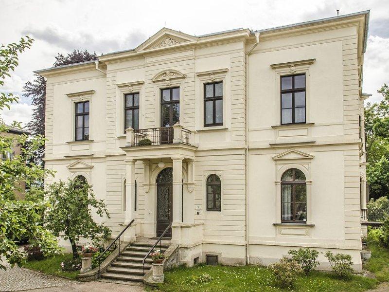 Historische Elbvilla - zu Fuß und per Rad in die Neustadt und ins Zentrum., alquiler de vacaciones en Dresden