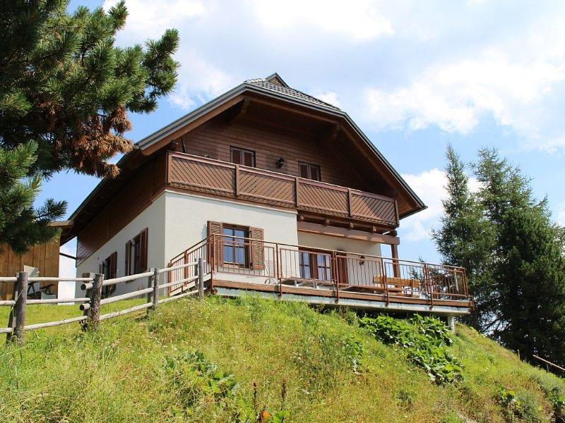 Exklusives Ferienhaus mit Sauna, Kamin u.Internet DSL/WLAN, location de vacances à Sirnitz-Sonnseite