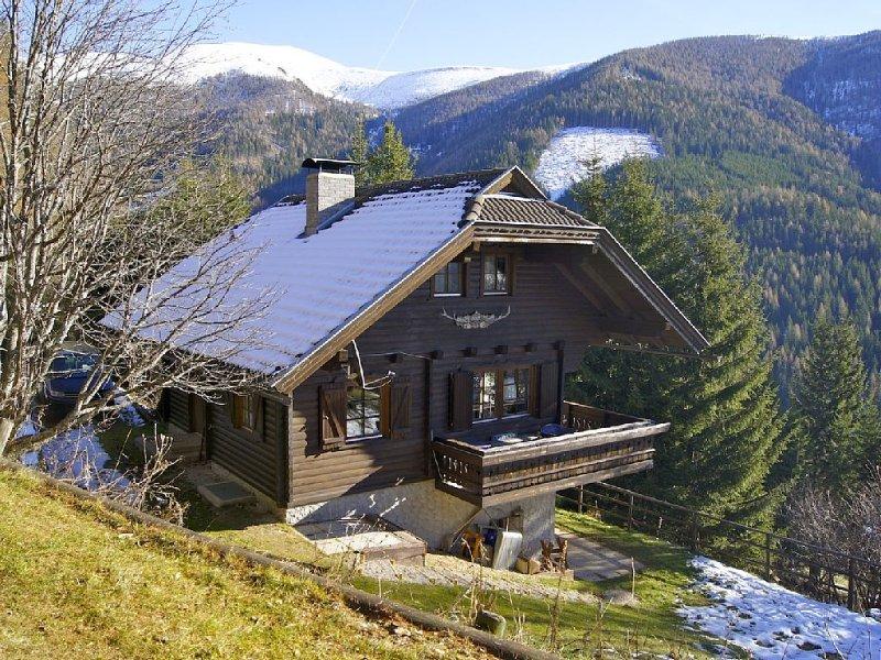 Idyllisches Blockhaus, direkt im Wald, wenige Autominuten vom Skilift entfernt, vacation rental in Bad Kleinkirchheim