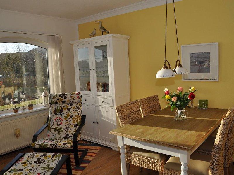 Komfortwohnung mit Terrasse, direkt hinter den Dünen, nur 7 Minuten zum Strand, aluguéis de temporada em Breezand