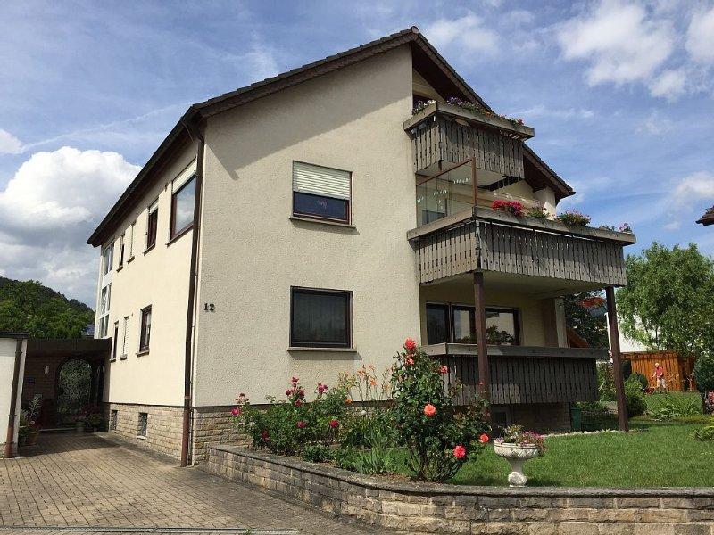 Ferienwohnung in Ruhiger Lage, Familienfreundlich, mit Nähe zum Taubertal Radweg, holiday rental in Niederstetten