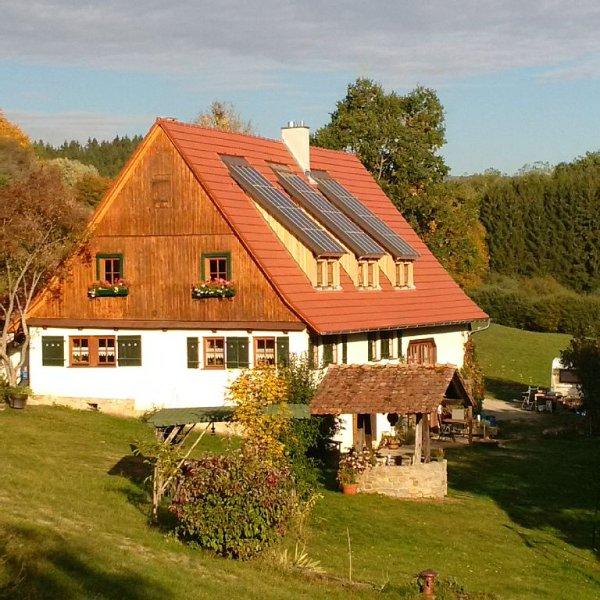 Ausspannen in einem idyllisch gelegenen Selbstversorgerhaus mitten in der Natur, vacation rental in Albstadt