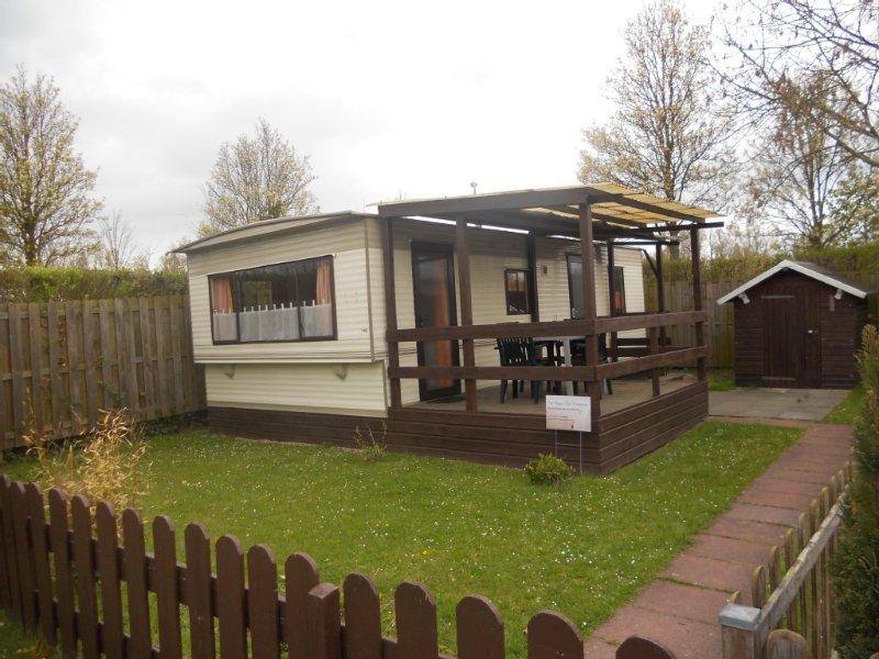 Mobilheim 118 im 5-Sterne Park Roompot Beach Resort - Kostenlose WIFI / WLAN, alquiler vacacional en Geersdijk