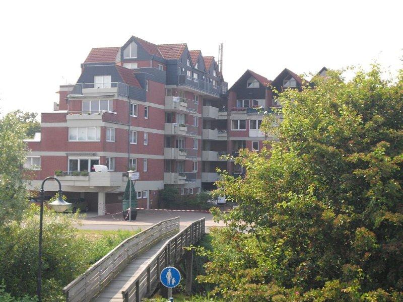 Komfortabel und gemütlich eingerichtete Ferienwohnung, direkt hinter dem Deich, casa vacanza a Wangerland