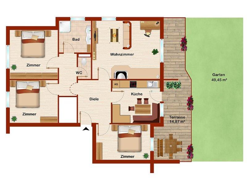 Appartement Lukas / Ferienwohnung in Umhausen, holiday rental in Sautens