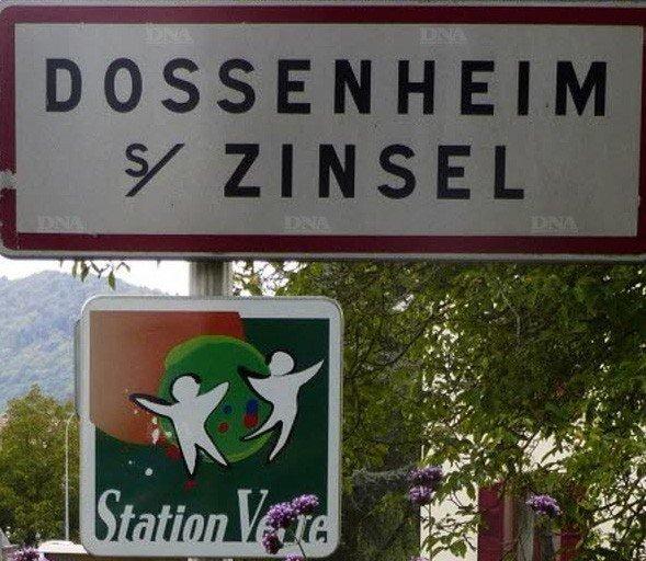 Dossenheim sur Zinsel Station Verte depuis 2013