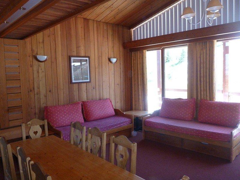 Arc 1800, Accès direct aux pistes, duplex spacieux avec balcon, idéalement situé, alquiler vacacional en Les Arcs