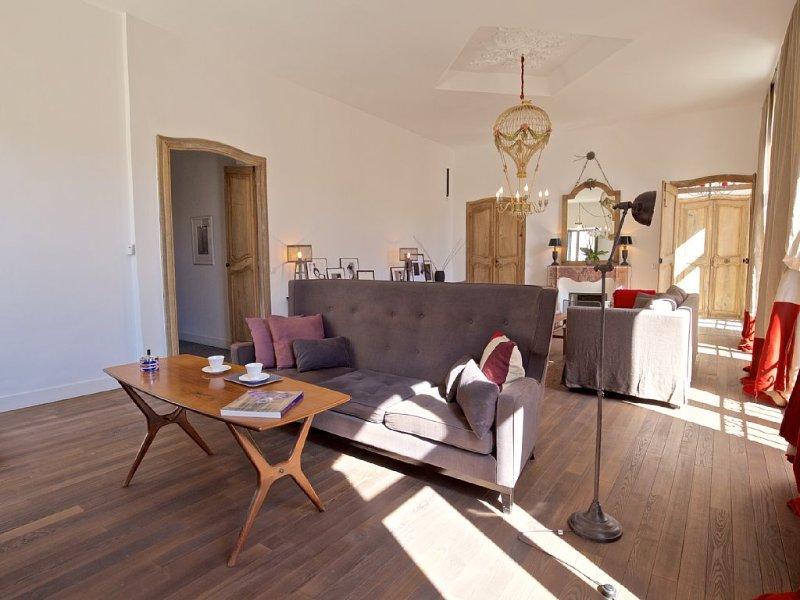Appartement haut de gamme dans le coeur d'Apt, à pied de tous les commerces, alquiler de vacaciones en Apt