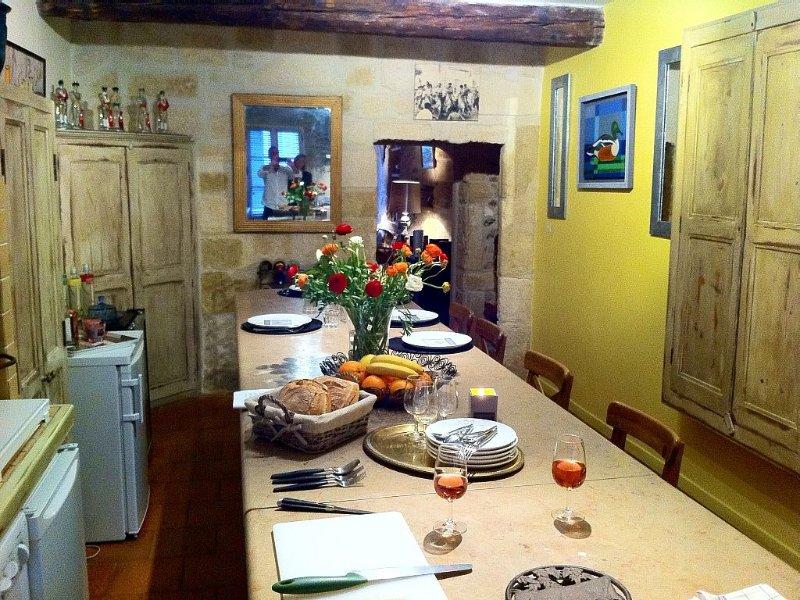 La maison dans les remparts, holiday rental in Montcalm
