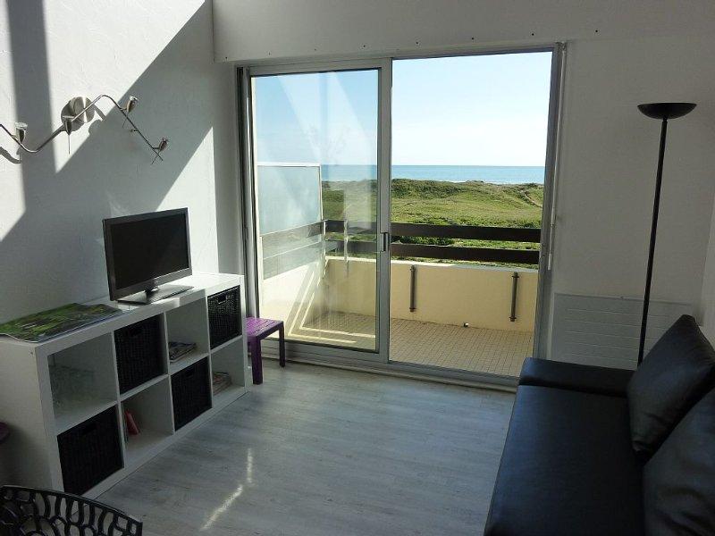 T3 DUPLEX FACE MER ET DUNES - 6 couchages - Garage - 2ème et dernier étage, location de vacances à Vendée