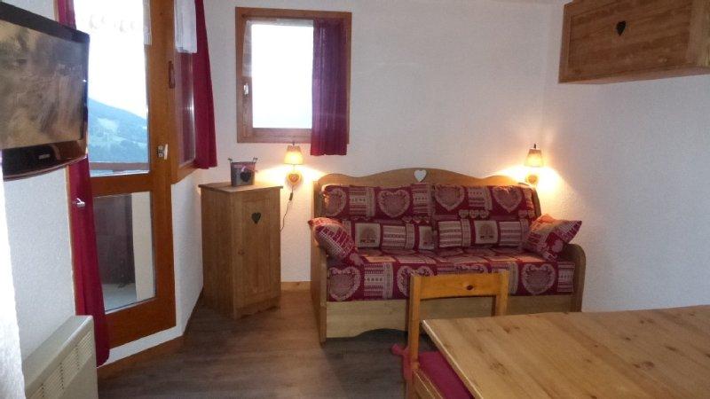 Appartement aux pieds des pistes à Vallandry - Paradiski Les Arcs/ La Plagne, casa vacanza a Nancroix