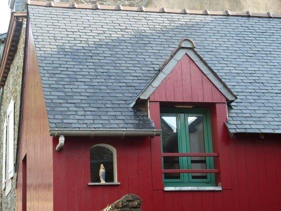 Cancale : maison de pêcheur sur le port de la Houle à Cancale, casa vacanza a Cancale