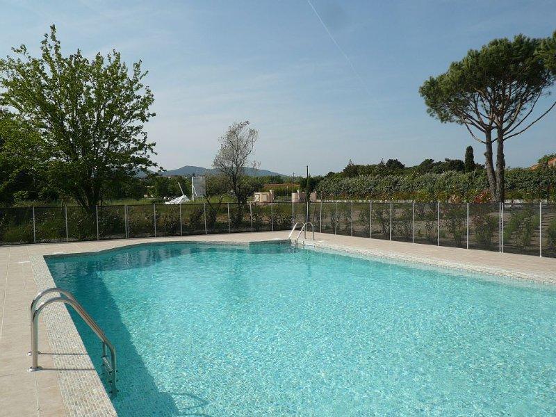 Belle maison  T3 dans résidence neuve avec piscine - Golfe de St Tropez-Grimaud, alquiler vacacional en Port Cogolin