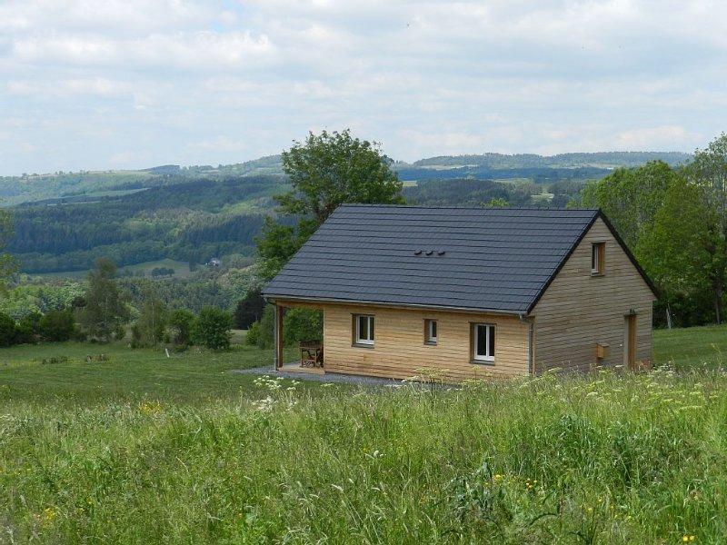 Chalet à proximité du lac Garabit Granval, alquiler vacacional en Le Malzieu-Forain