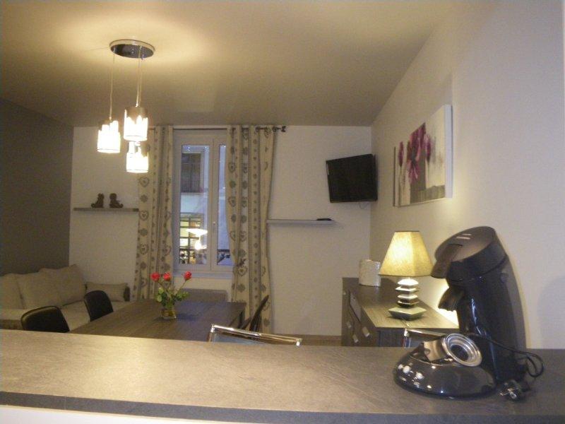 Appartement au centre-ville de Gérardmer, 4 personnes, 1 chambre indépendante, vacation rental in Gerardmer