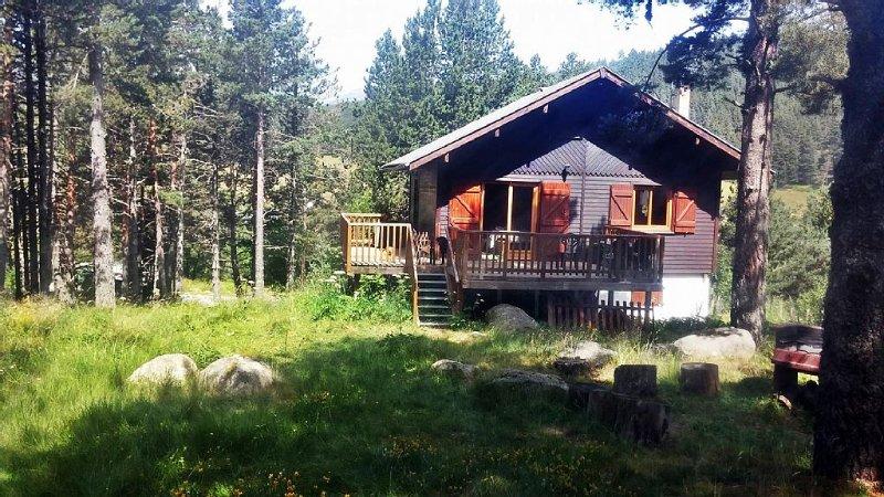 Chalet indépendant de 125 m², station de ski de Formiguères, Pyrénées Orientales, location de vacances à Matemale