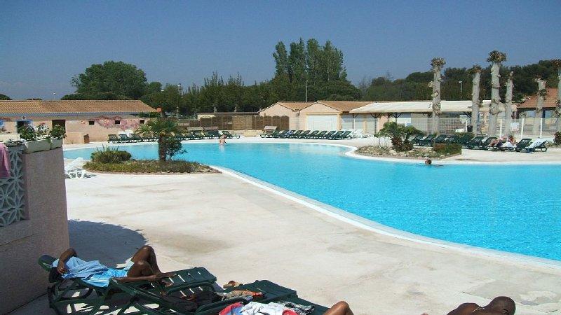 Maison  méditerranéenne de vacances climatisée en bord de mer, casa vacanza a Portiragnes