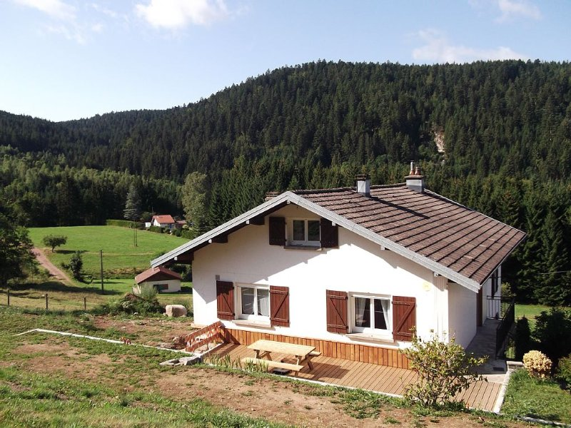 Cottage 2 * in the wilderness, forest view, for 4 people, Ferienwohnung in Le Tholy
