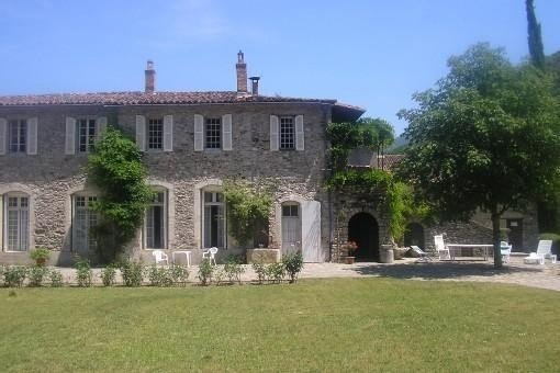 Belle demeure familiale du XVème en Cévennes méridionales (I.M.H.), location de vacances à La Cadière-et-Cambo