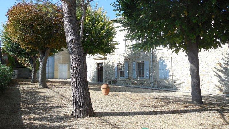 Maison de charme en Corbières, location de vacances à Talairan