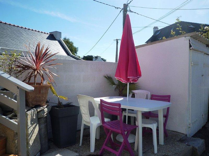 Coquette Pte maison idéalement  située, pour 2 à 4 personnes, location de vacances à Quiberon