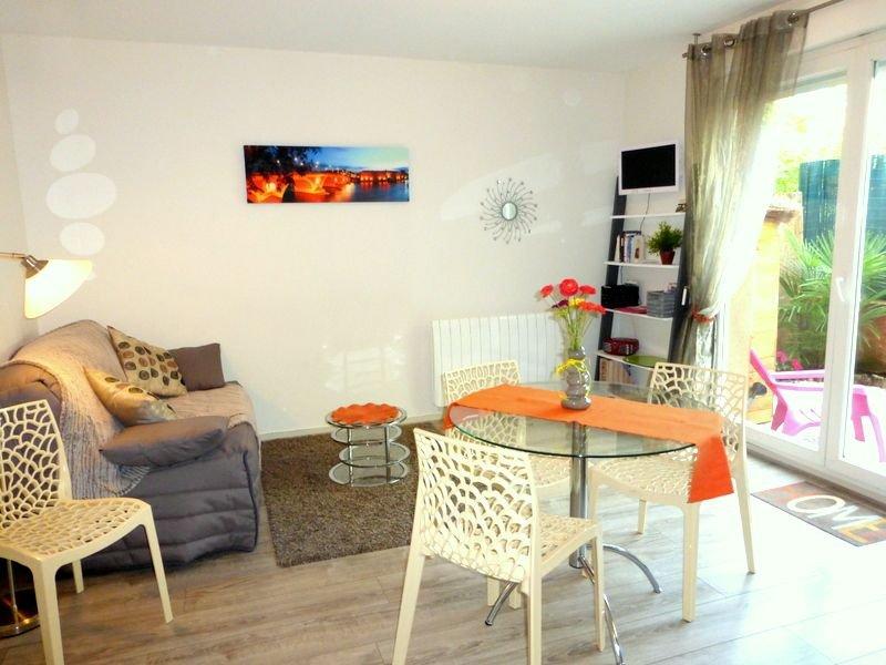 Beau Meublé classé 2**  3/4 Pers. + PARKING +JARDIN + WIFI, vacation rental in Lagardelle-sur-Leze
