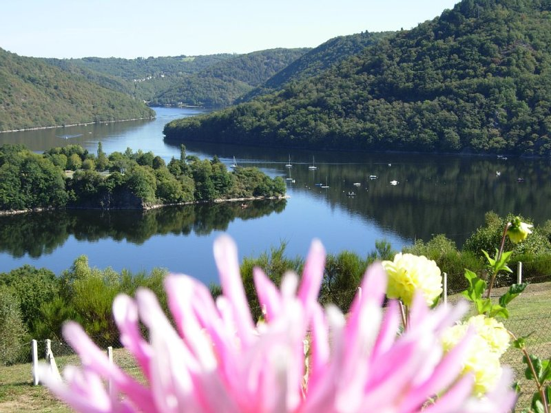 NEW - 4 * Chalet with Jacuzzi and lake view, holiday rental in Saint-Pierre-le-Chastel
