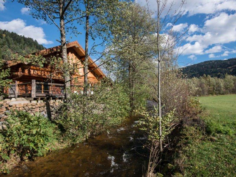 Magnifique chalet en rondins type canadien, 4 étoiles, vacation rental in La Bresse