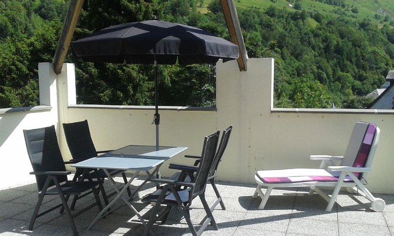 Appartement Grand Confort avec terrasse, vacation rental in Bareges