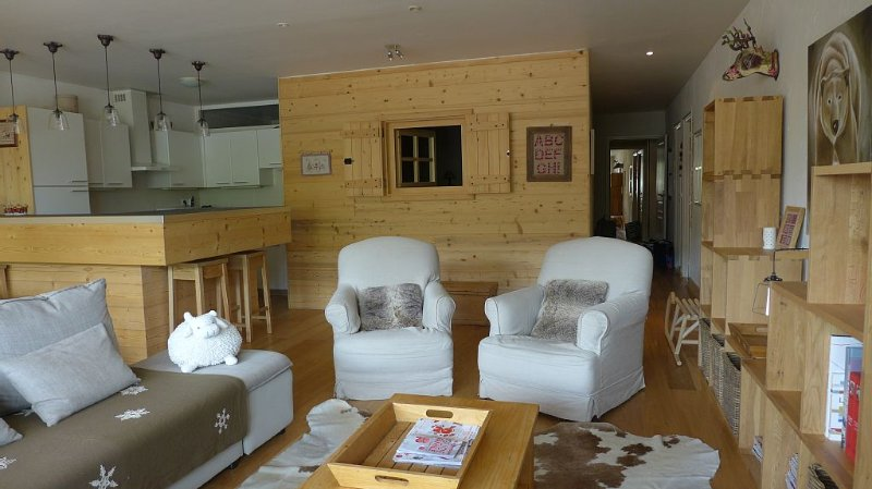 Grand appartement de 105 m2 au pied des pistes, holiday rental in Les Deux-Alpes