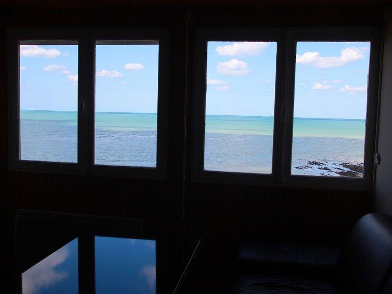 Front de mer, les Petites Dalles, pleine vue mer, vacation rental in Sassetot-le-Mauconduit