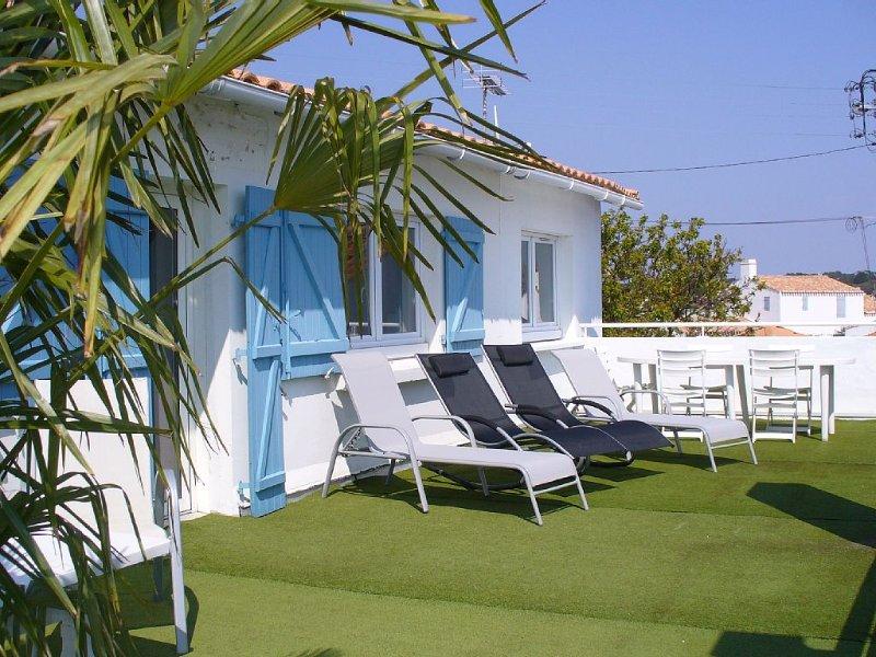HOUSE 5 rooms Comfortable MINT to Noirmoutier-EN-ILE (Centre), vacation rental in Vendee