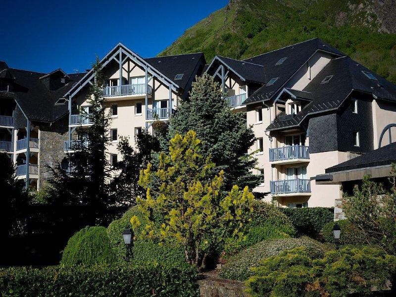 BEL APPART/dans une résidence de Tourisme au pied du télécabine, location de vacances à Hautes-Pyrenees