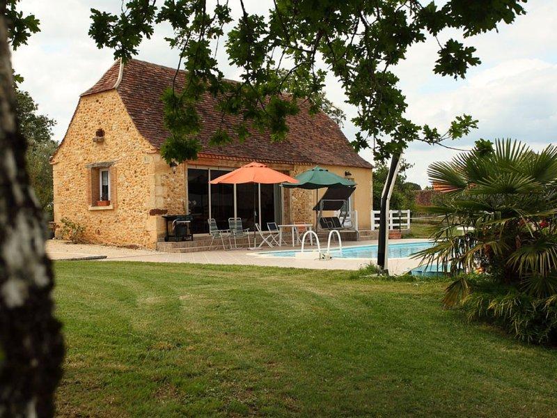 Maison périgourdine située au cœur des plus beaux sites du Périgord, vacation rental in Saint-Geyrac