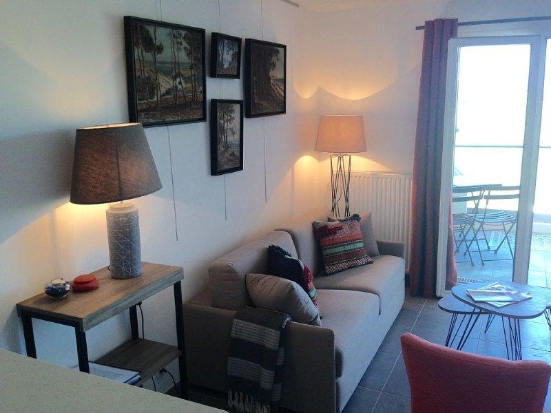 Appartement Résidence Palombaggia T2 Balcon Face Océan, location de vacances à Biscarrosse