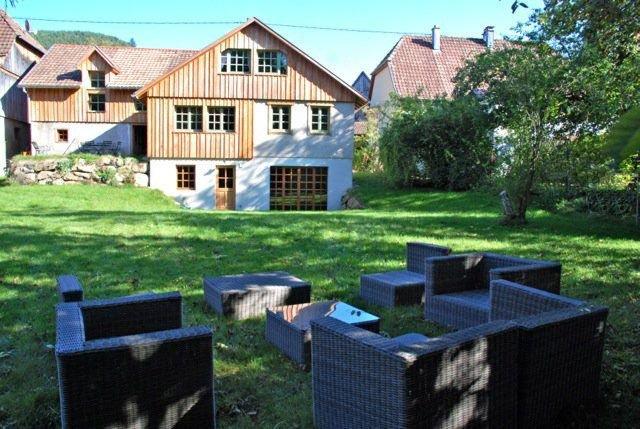 Gîte enchanteur dans les Hautes Vosges, 4* spa piano label Tourisme et Handicap, holiday rental in Husseren-Wesserling