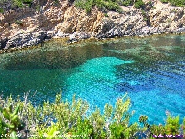 réserve naturelle de l'ile de Port Cros