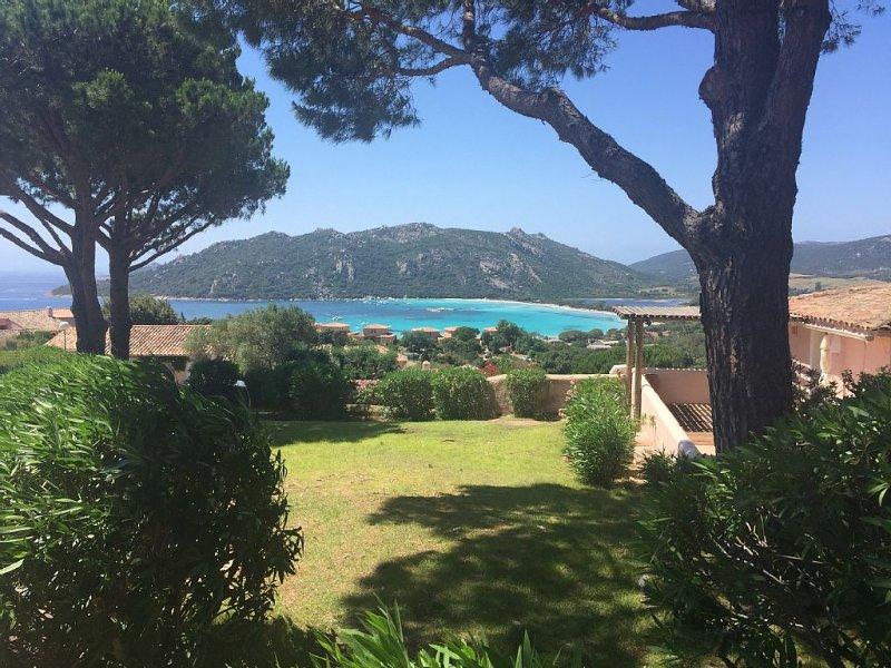 VILLA TRÈS AGRÉABLE à 2 minutes de la plage. SANTA GUILIA, holiday rental in Pietra Longa Salvini