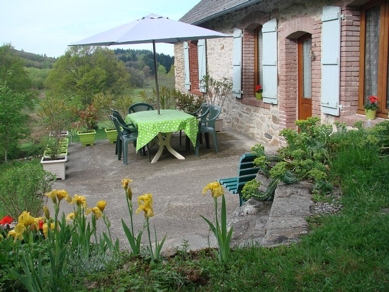 Location gîte Sainte -Fortunade Corrèze, holiday rental in Gros-Chastang