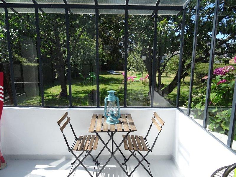 Maison Saint Cast, au calme avec jardin arboré. 10 minutes à pieds des plages., alquiler de vacaciones en Matignon
