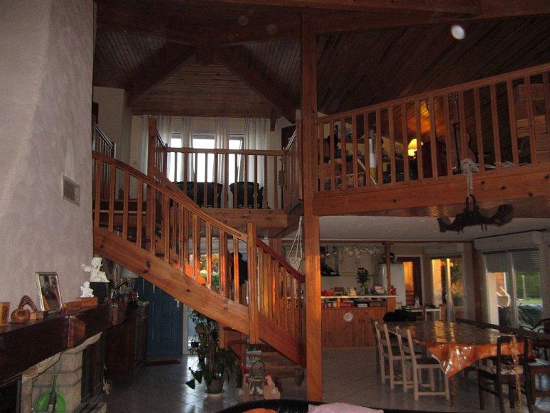 Maison 10 couchages  Sud des Landes à 10 mn des Plages de Capbreton/ Labenne, location de vacances à Saint-Jean-de-Marsacq