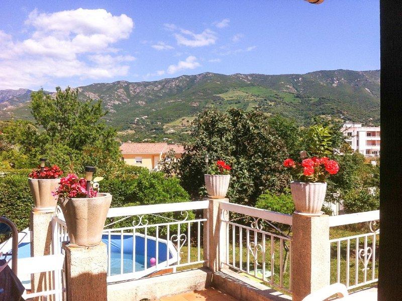 Coquette chambre d'hôte à 10 minutes d'Ajaccio et de la mer pour 2 personnes, holiday rental in Cuttoli-Corticchiato