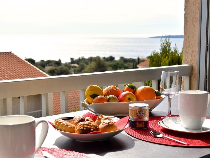 Appartement  magnifique vue mer , plage, piscine., holiday rental in Les Issambres