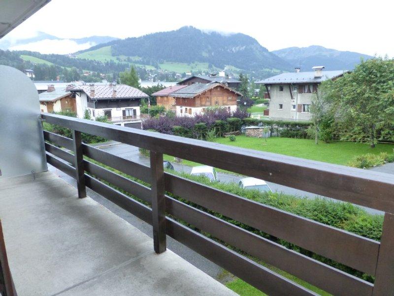 balcon avec vue sur Rochebrunne