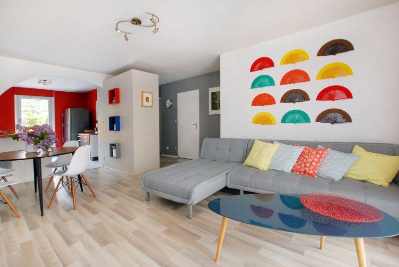 REZ-DE -JARDIN EN CENTRE-VILLE (ENRG VILLE DE ******* ******* 19 00053), holiday rental in Lyon