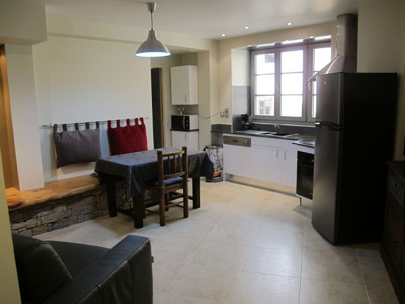 T2 on the ground floor and the center of Ax, vacation rental in Ignaux