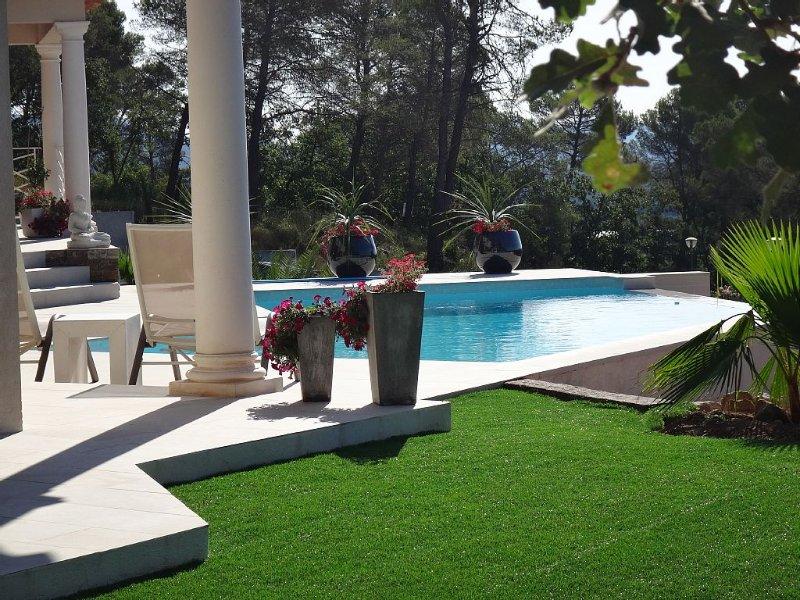 Studio of 35 m2 in villa, holiday rental in La Motte