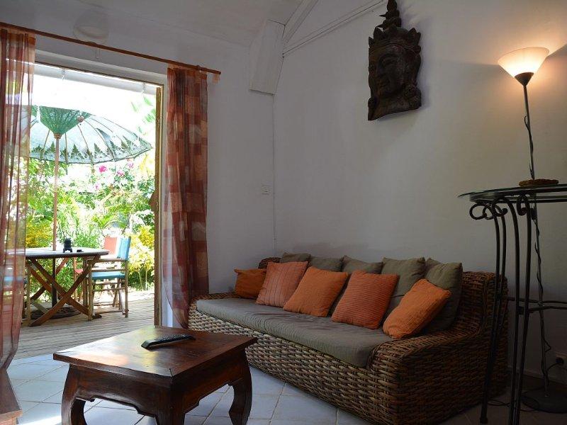 T3 Duplex furnished ground floor the lagoon Reunion, aluguéis de temporada em La Saline-les-Bains